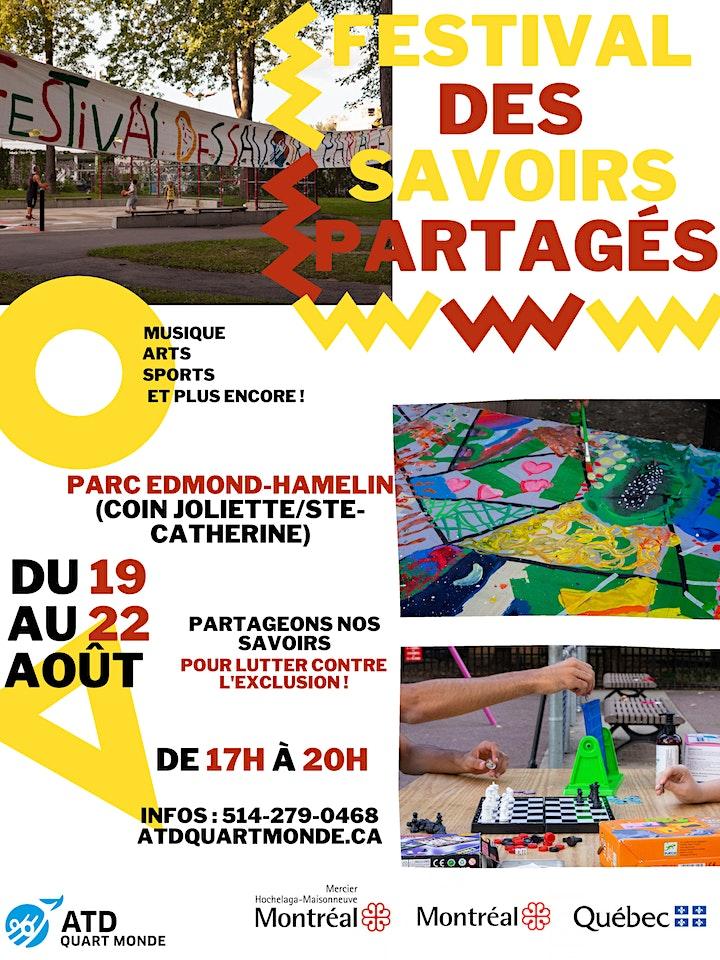 Image pour Festival des Savoirs Partagés ATD Quart Monde 2021