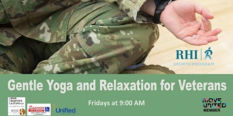 Gentle Yoga and Relaxation for Veterans tickets