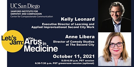 Improvisation for Caregivers with Kelly Leonard and Anne Libera tickets