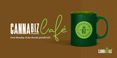 October Cannabiz Cafe - A Morning Time Cannabis Industry Networking Event tickets