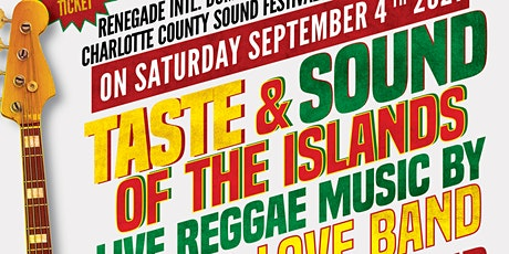 TASTES & SOUNDS of the ISLANDS 2021 tickets