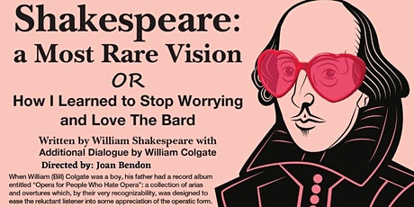 Shakespeare: A  Most Rare Vision a Muskoka Players Production tickets