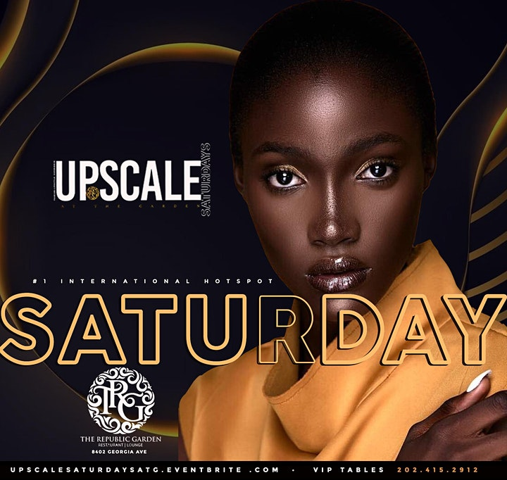 Upscale Satudays at the Garden image