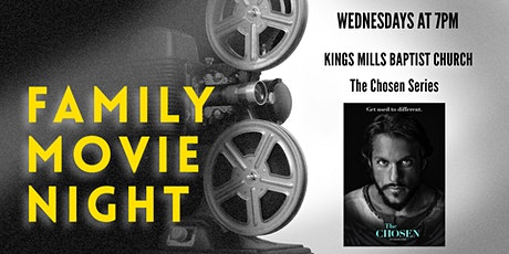 Family Movie Night - The Chosen tickets