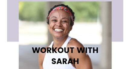Workout with Sarah tickets