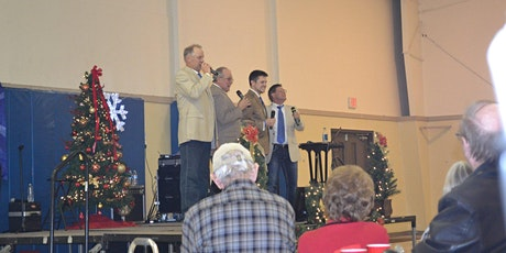 The Crestmen Christmas Dinner and Concert tickets