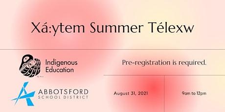 Xá:ytem Summer Télexw tickets