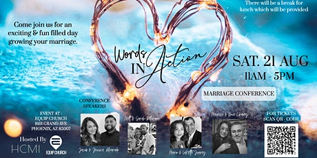 Words in Action Marriage Conference tickets