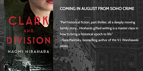 """Author Naomi Hirahara presents """"Clark and Division"""", a new mystery tickets"""