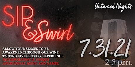 Untamed Nights: Sip & Swirl tickets