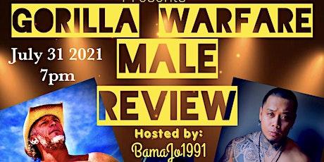 Gorilla Warfare Social media Male Review tickets