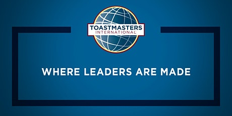 TOASTMASTERS, Virtual Meetings - Guests are Welcome tickets