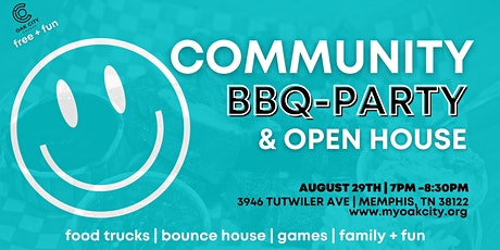 COMMUNITY BLOCK BBQ PARTY & OPEN HOUSE tickets