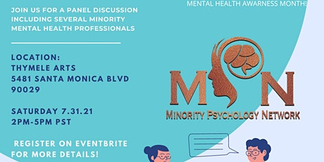 The Minority Psychology Network Mental Health Workshop tickets