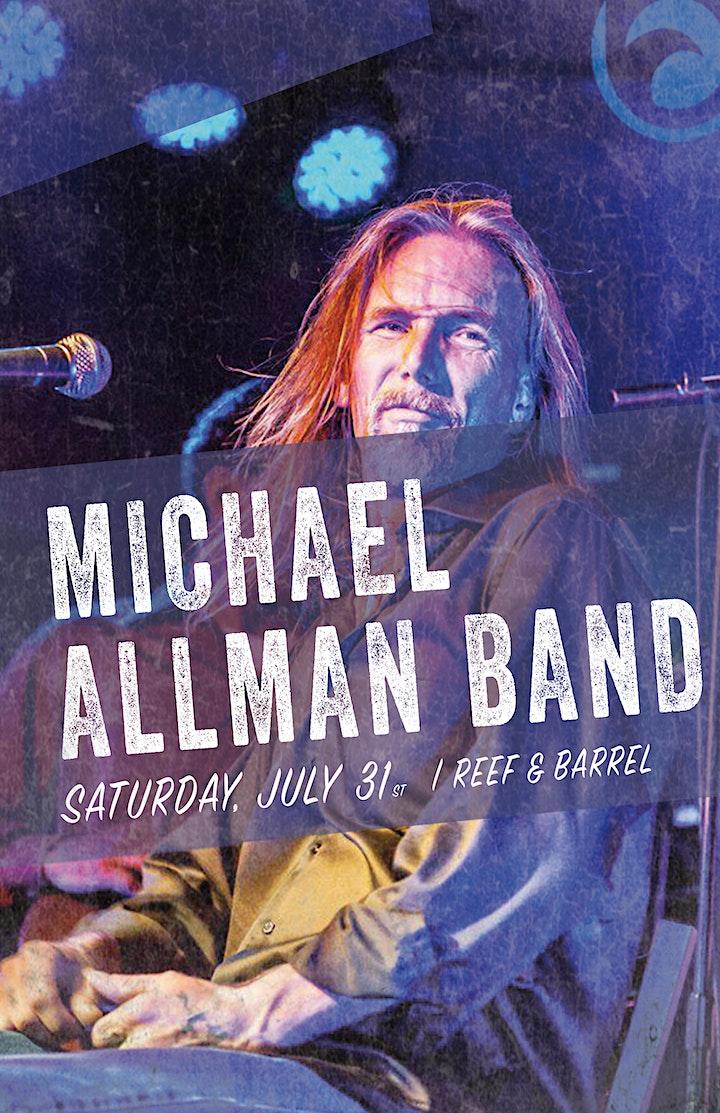The Michael Allman Band, Live At Reef & Barrel Saturday July 31st image