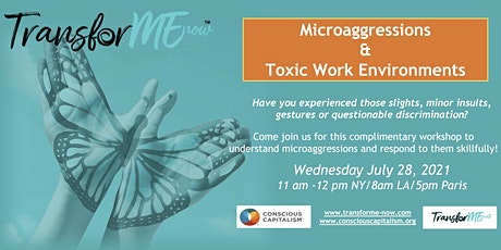 Microaggressions & Toxic Work Environments tickets