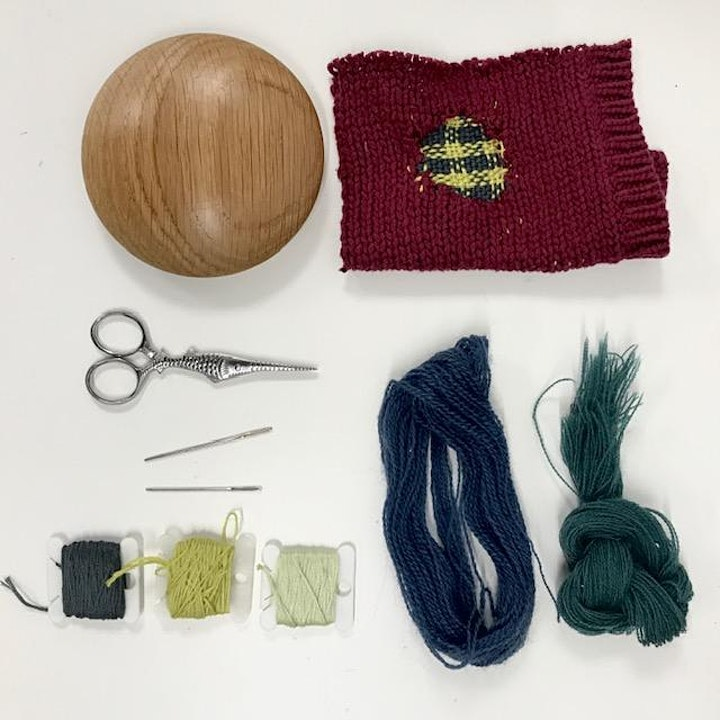 Darn It! - An Introduction to Darning Workshop image