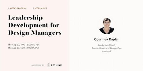 Leadership Development Program for  Design Managers tickets