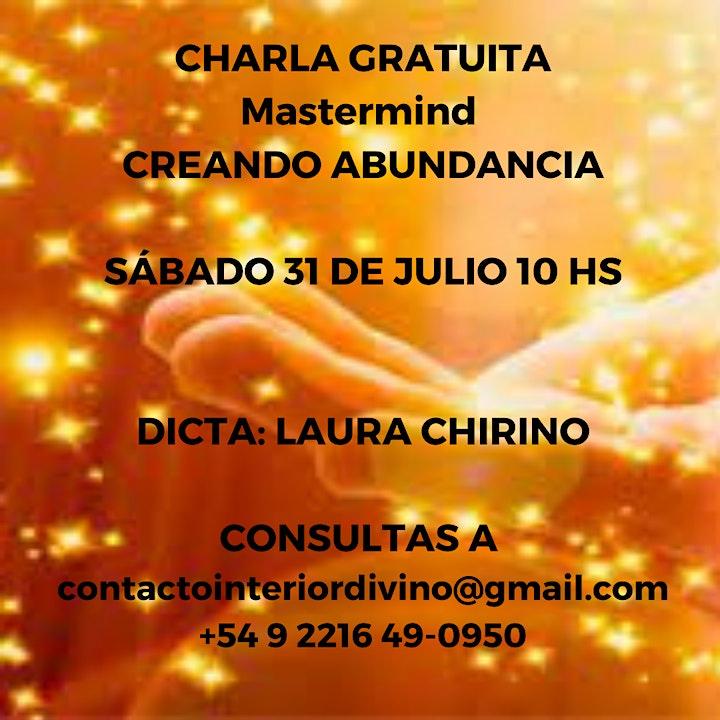 Imagen de Charla Gratuita sobre Mastermind Creando Abundancia
