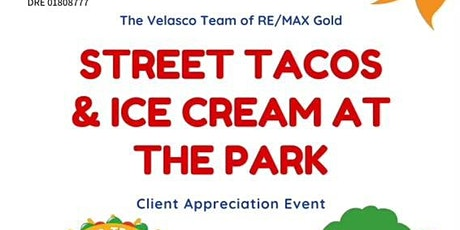 Street Tacos & Ice Cream at the Park! tickets