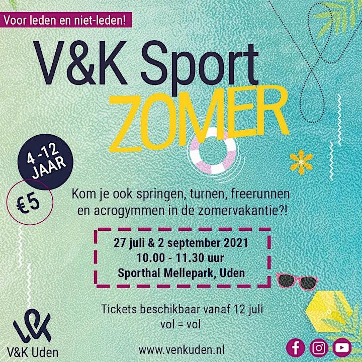 Afbeelding van V&K Sport Zomer!