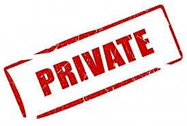 Private Event (1-4PM)