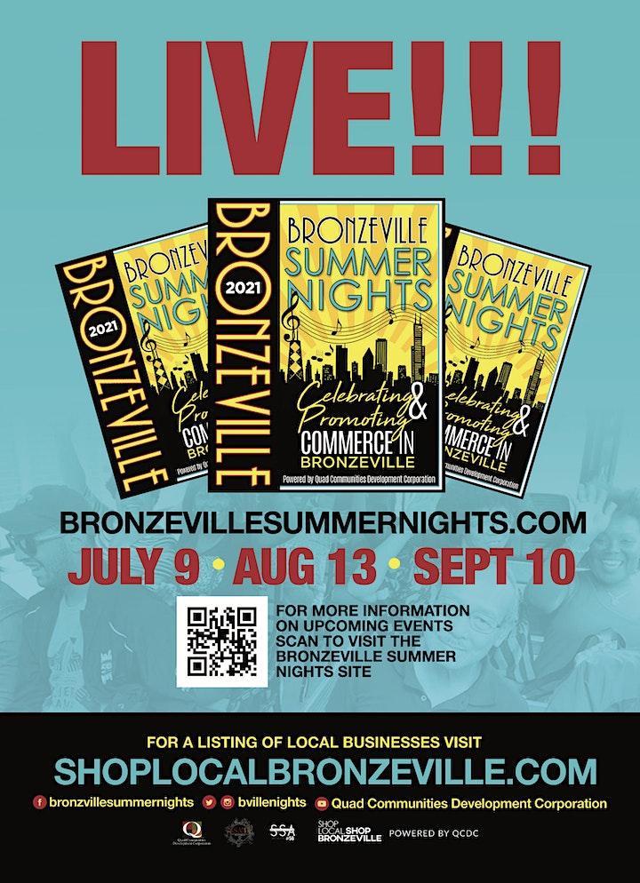 Bronzeville Summer Nights - Celebrating Commerce + Culture! image