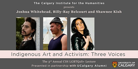 Indigenous Art and Activism: Three Voices - CIH 3rd Annual LGBTQ2S+ Lecture tickets