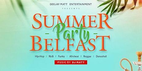 SUMMER PARTY BELFAST tickets