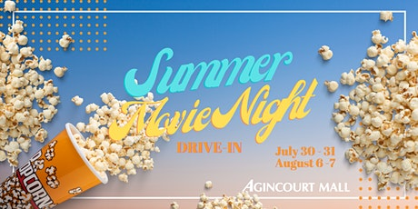 Summer Movie Night Drive In by Agincourt Mall tickets