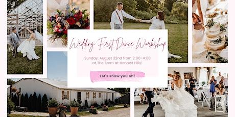 Wedding First Dance Workshop tickets