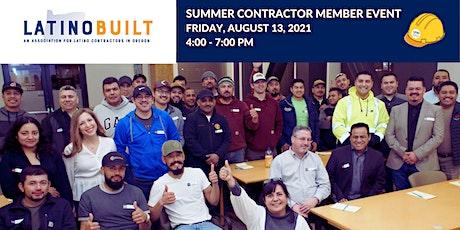 LatinoBuilt: Summer  Contractor Member  Event tickets