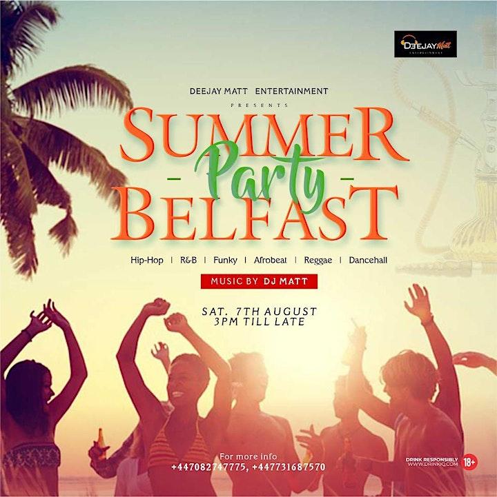 SUMMER PARTY BELFAST image