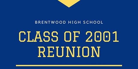 BHS Class of 2001 - 20 Year Reunion! tickets
