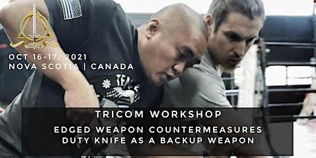 TRICOM: Edged Weapon Workshop tickets