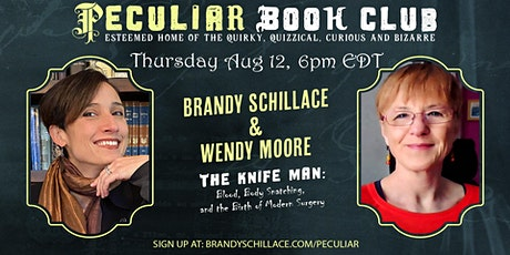 Aug 12th at 6pm: Sharpen Your Wits with Wendy Moore and The Knife Man! tickets