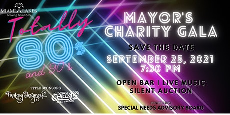 Totally 80's and 90's Mayor's Charity Gala tickets