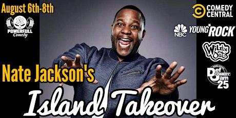 Nate Jackson's Island Takeover! Sunday Nextdoor Chinatown tickets