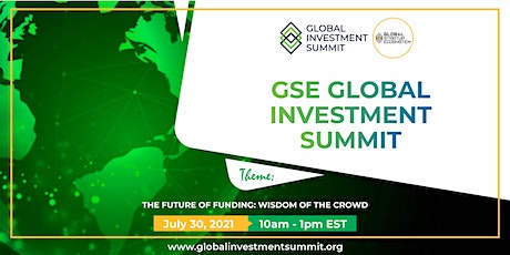 GSE Global Investment Summit 2021 (Virtual) tickets