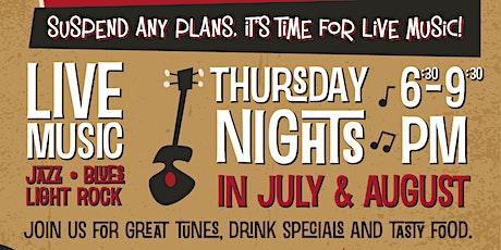 Suspenders Summer Concert Series tickets