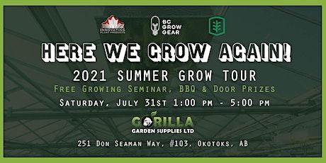 Here We Grow Again - Okotoks Growing Seminar & BBQ tickets