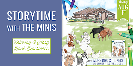 Storytime with The Minis 8.1.21 tickets