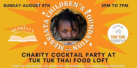 Mebriata Children's Foundation  Charity Cocktail Party tickets