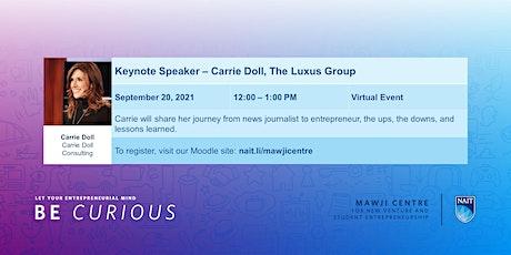 Keynote Speaker - Carrie Doll, Consultant, Speaker, Podcast Host, Keynote tickets