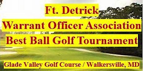Ft. Detrick Warrant Officer Association Golf Tournament tickets
