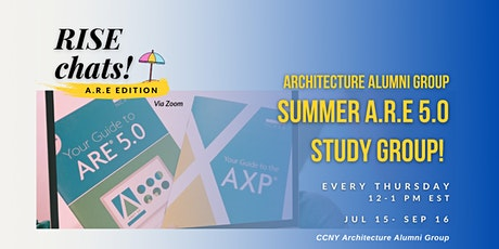 AAG Summer ARE 5.0 Study Group tickets