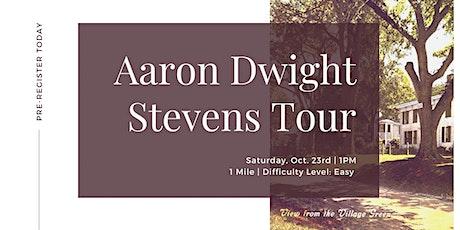 Aaron Dwight Stevens Tour tickets