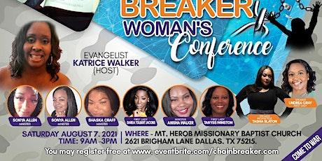 Chain Breaker Women's Conference 2021 tickets