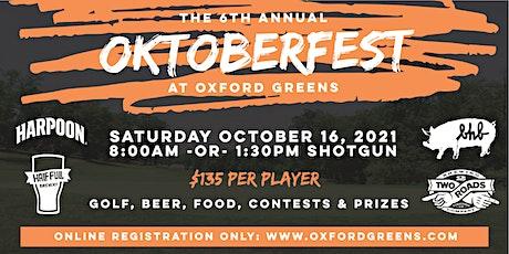 6th Annual OKTOBERFEST GOLF TOURNAMENT at Oxford Greens tickets