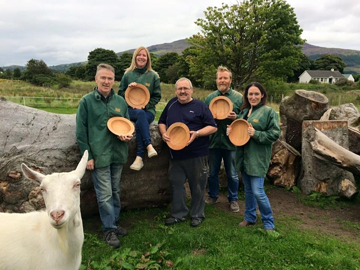 Celtic Bowl Woodturning Workshop with Pádraig Carragher image